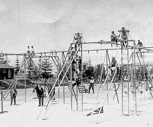 Image result for old fashioned playgrounds