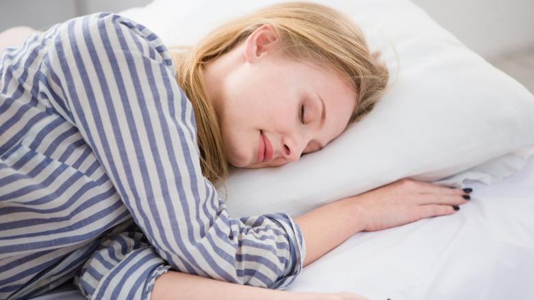Image result for woman sleeping in pjs